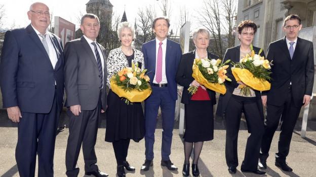 Zürcher Regierungsrat im Mai 2015