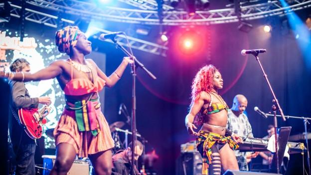 Afro-Pfingsten - bei den Konzerten gehen die Veranstalter über die Bücher.