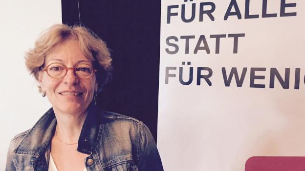 Julia Gerber Rüegg hat sich einen besseren Listenplatz erhofft.