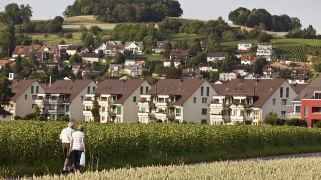 Agrarland versus Bauland: Die Kulturlandinitiative bleibt Thema.