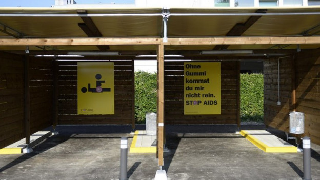 Die Strichboxen als Alternative - bislang wenig genutzt.