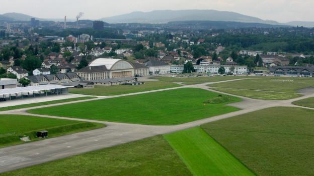 Der Militär-Flugplatz Dübendorf.