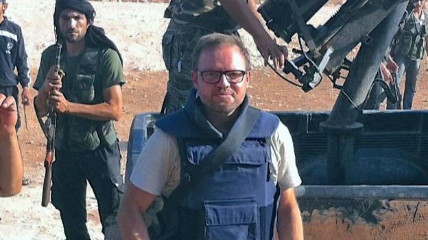 Kriegsreporter Kurt Pelda: Auf Recherche im Nahen Osten und in der Schweiz