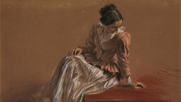 Das Werk «Dame mit roter Bluse» verlässt Winterthur