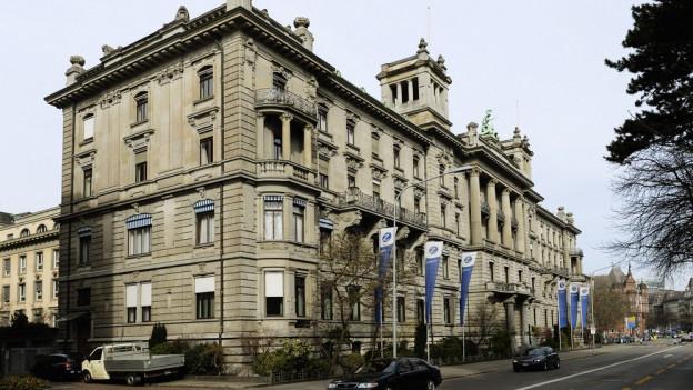 Der aktuelle Hauptsitz der Zurich-Versicherung.