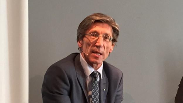 Gesundheitsdirektor Thomas Heiniger hat sich an einem Podium in Winterthur den AG-Kritikern gestellt