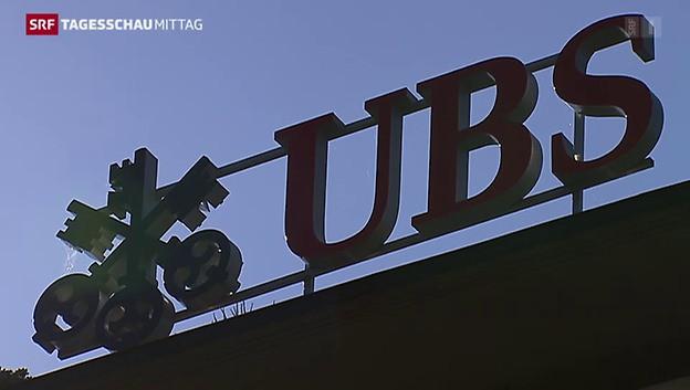Die UBS steigert ihren Gewinn um gut die Hälfte.