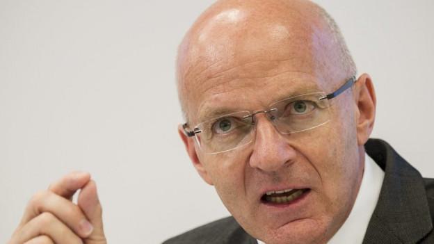 Will nicht mehr: Sulzer-CEO Stahlmann