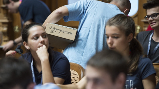 Die Jugendsession im Bundeshaus