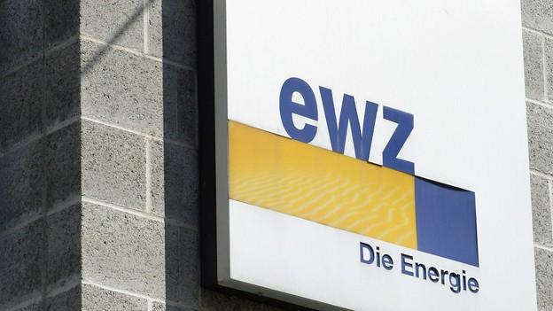 Das Logo des Elektrizitätswerks der Stadt Zürich
