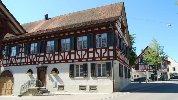 Riegelhaus, Fachwerkhaus