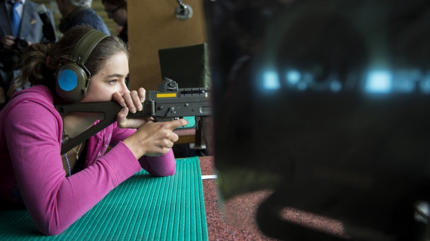 Die letztjährige Schützenkönigin Milena Brennwald.
