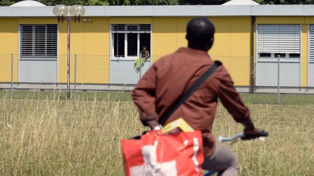 Asylunterkunft Embrach: Die Kapazitäten stossen an ihre Grenzen.
