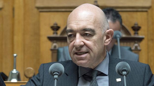 Daniel Jositsch im Nationalratssaal.