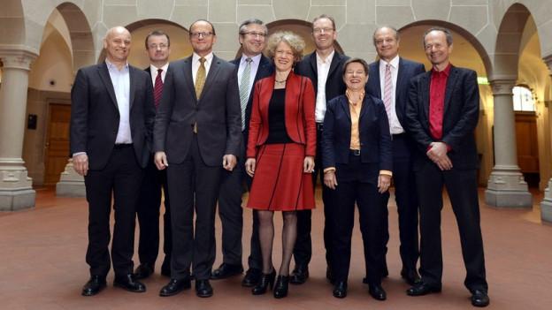 Gruppenbild Zürcher Stadtrat