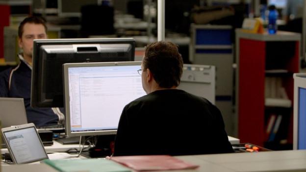 Sie sollen bei Bewerbungen ihre Fähigkeiten besser hervorheben: Ältere Informatiker in Zürich.