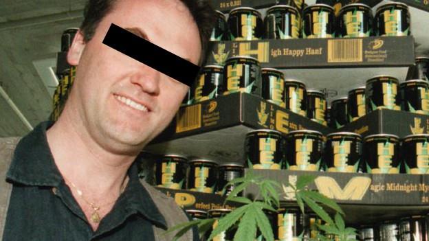 Setzte sich für die Cannabis-Legalisierung ein: Robert Frommherz (Archivaufnahme von 1997).