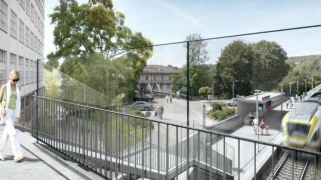 Neue Bahnhöfe, mehr Züge: Die Schaffhauser S-Bahn ist fertig gebaut
