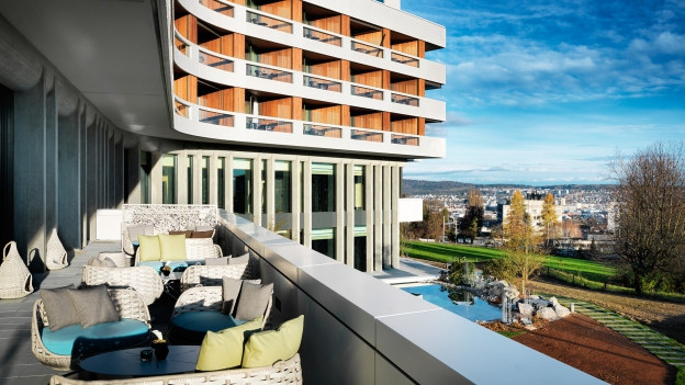Das renovierte Luxushotel will eine Oase der Ruhe sein.