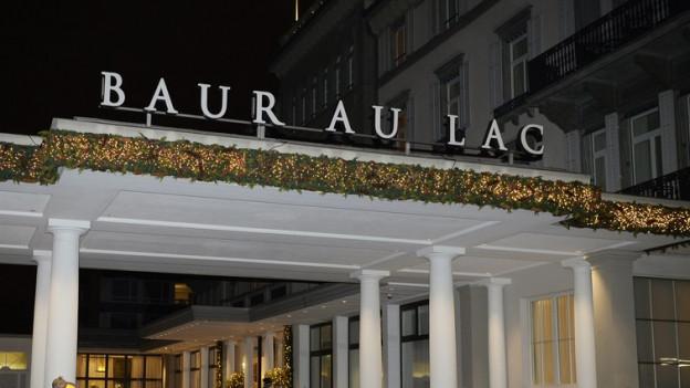 Das Hotel Baur au Lac in Zürich