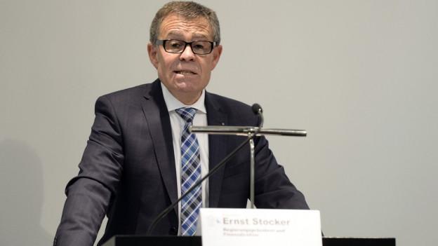Ernst Stocker, Zürcher Finanzdirektor