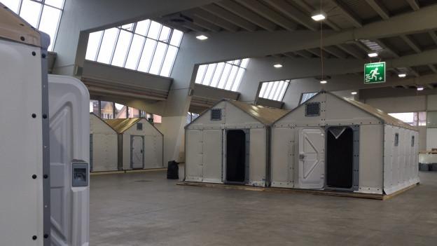 Asylunterkunft made by Ikea