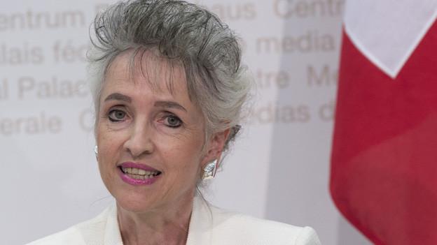 FDP-Regierungsrätin Carmen Walker Späh.