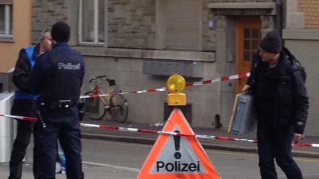 Nach der Messerattacke in Zürich-Wiedikon wird ein rassistisches Motiv ausgeschlossen.