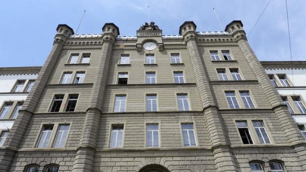 Kapo ist komplett: Hauptgebäude der Zürcher Kantonspolizei.