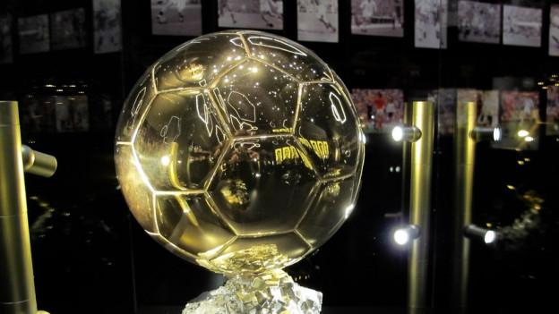 Trophäe für Weltfussballer