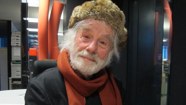 88 Jahre alt und immer noch regelmässig auf der Gasse: Ernst Sieber.