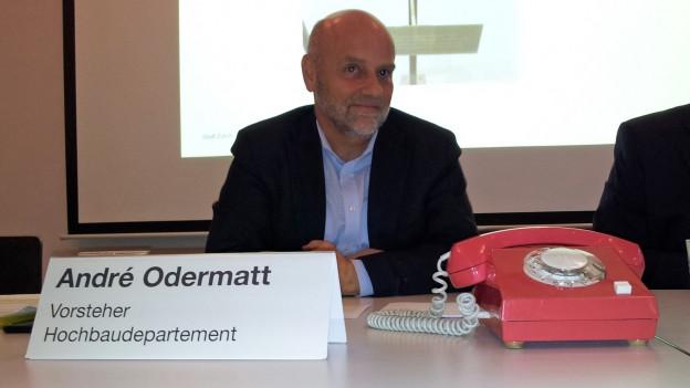 André Odermatt präsentiert die neuen Abläufe.