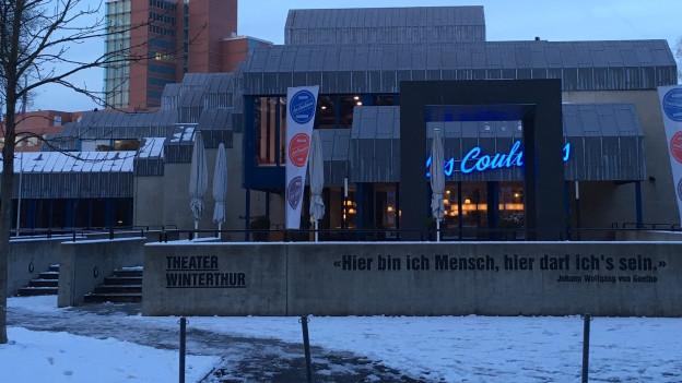 Das Stadttheater Winterthur