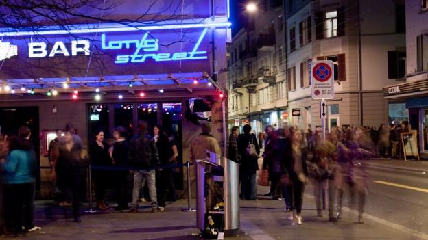Nachtleben, Ausgänger auf der Langstrasse