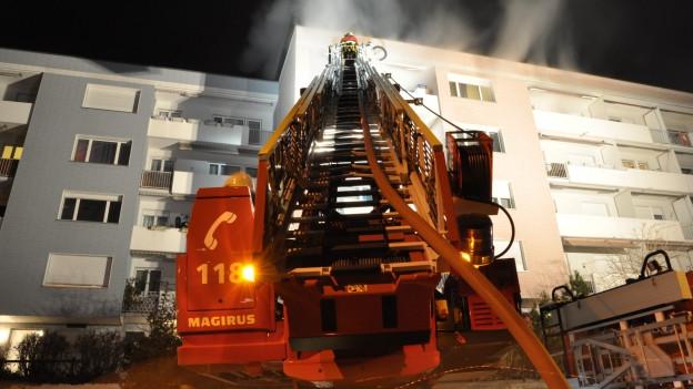 Brand in Schaffhausen