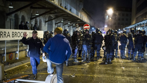 An der Demonstration wurden 93 Personen verhaftet.