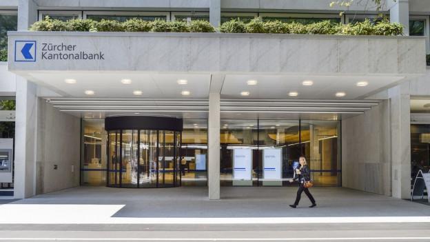 Die Zürcher Kantonalbank konnte ihren Gewinn steigern.
