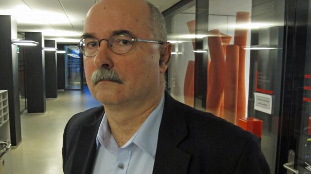 Thomas Manhart, Leiter des kantonalen Amtes für Justizvollzug.