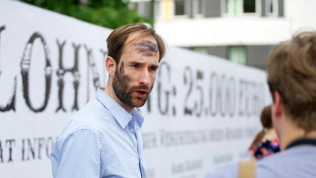 Philipp Ruch vom «Zentrum für politische Schönheit»
