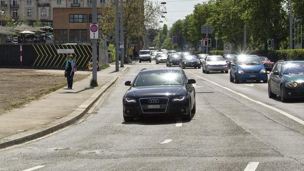 Neue Verkehrsregeln: Der Kanton will bei den Städten mitreden.