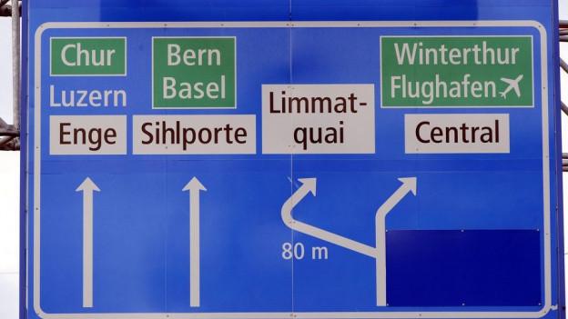 Strassen-Aus oder -abbau: Ein ewiger Zankapfel zwischen Stadt und Kanton.