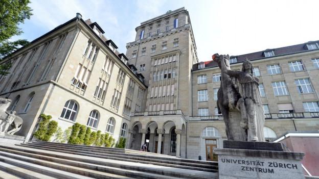 Eingang Universität Zürich