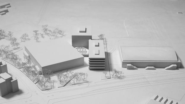 Architekturmodell des «WinCity»-Projekts