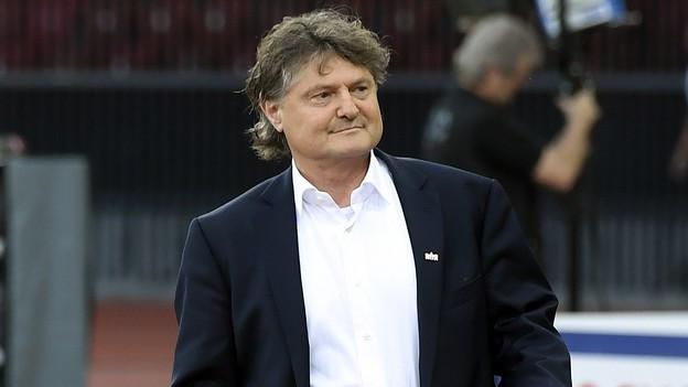 Ancillo Caneppa nach der Heimschlappe gegen Lugano.