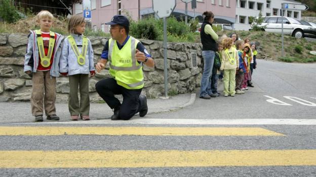 Weniger Verkehrserziehung an den Zürcher Schulen.