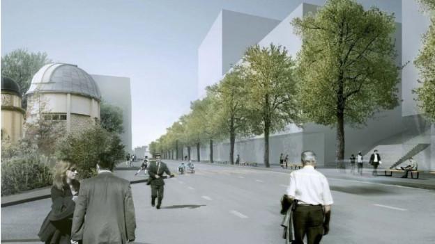 Visualisierung der Sternwartstrasse