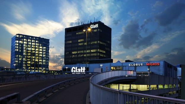 Einkaufszentrum Glatt, Aussenansicht