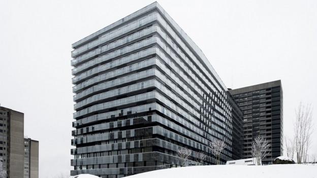 Das neue Bettenhaus am Triemlispital