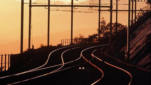 Neues Gleis für neue S-Bahn-Linie.