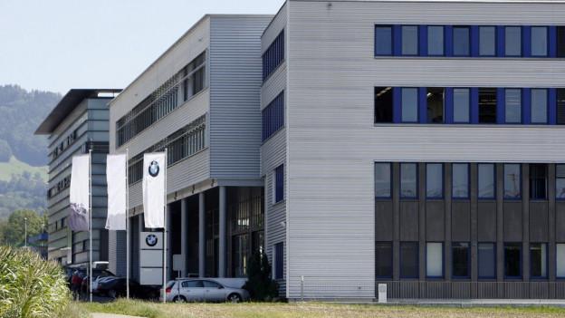 Die Firma Sauber in Hinwil.